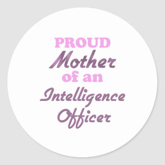 Proud Mother of an Intelligence Officer Sticker