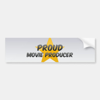Proud Movie Producer Bumper Sticker