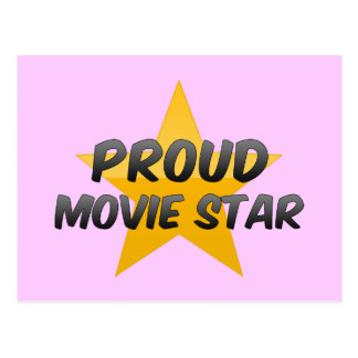 Proud Movie Star Post Card