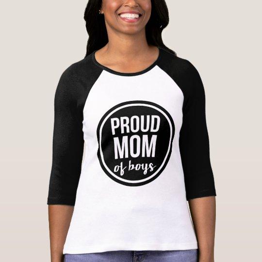 Proud Mum of Boys Raglan T-Shirt
