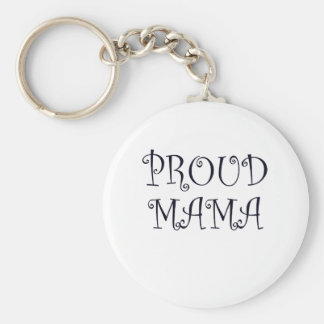 Proud mummy key ring