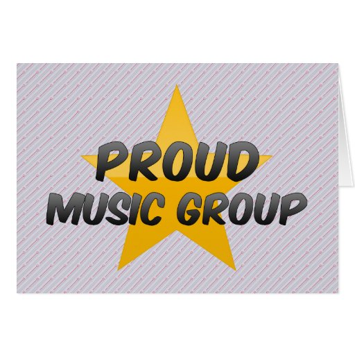 Proud Music Group Greeting Card