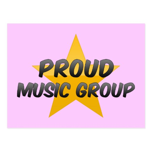 Proud Music Group Post Cards
