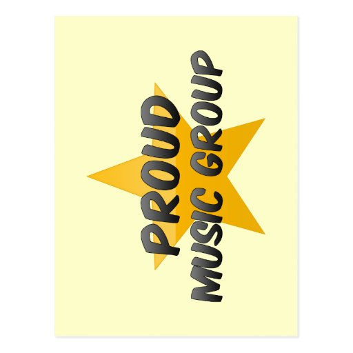 Proud Music Group Postcards