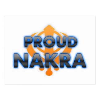 Proud Nakra, Nakra pride Post Card