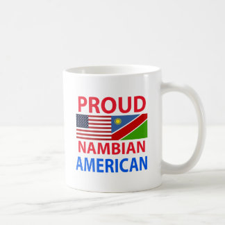 Proud Nambian American Basic White Mug