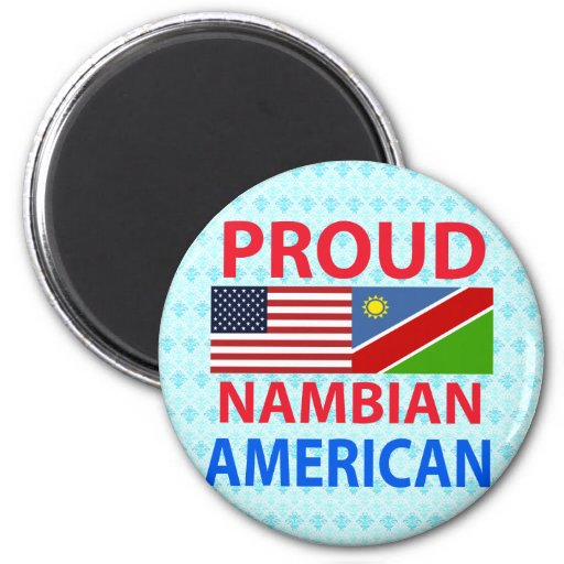 Proud Nambian American Magnet