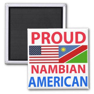 Proud Nambian American Fridge Magnet