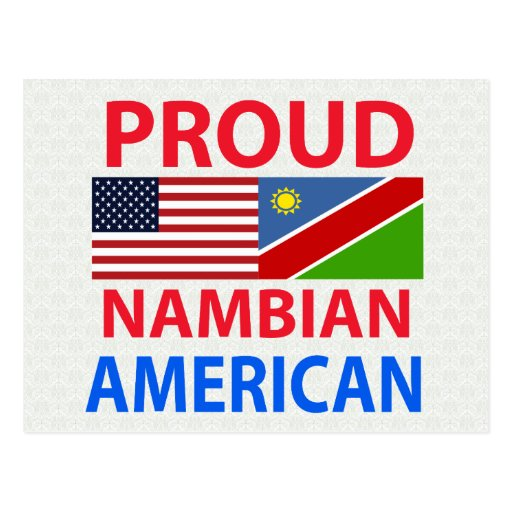 Proud Nambian American Postcards