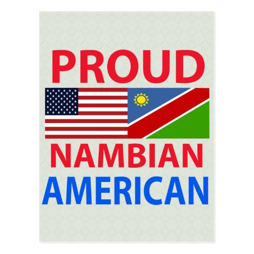 Proud Nambian American Post Cards
