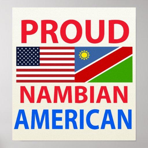 Proud Nambian American Print