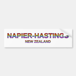 Proud Napier-Hastings, New Zealand Bumper Sticker