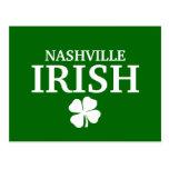 Proud NASHVILLE IRISH! St Patrick's Day Post Cards
