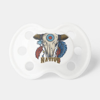 Proud Native American Baby Pacifiers