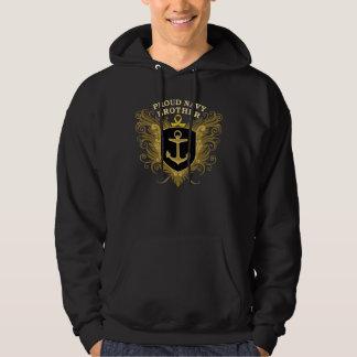 Proud Navy Brother Hoodie