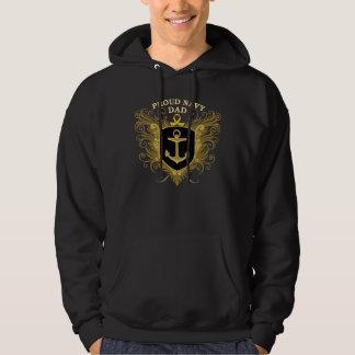 Proud Navy Dad Hoodie