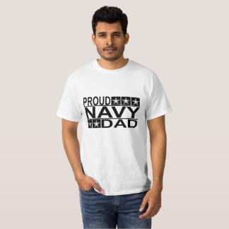 PROUD navy DAD ..png T-Shirt