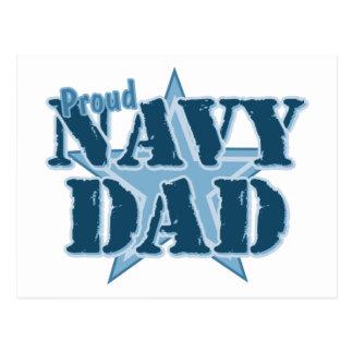 Proud Navy Dad Post Card