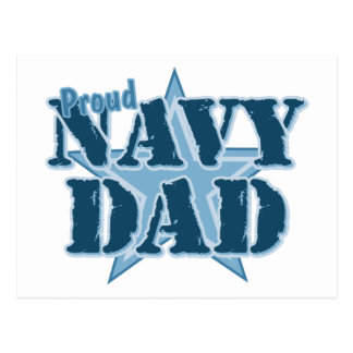 Proud Navy Dad Postcard