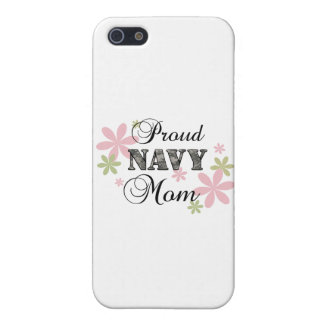 Proud Navy Mom [fl c] Cover For iPhone 5/5S