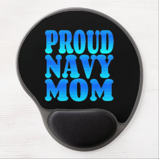 Proud Navy Mom Gel Mouse Mat