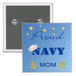 Proud Navy Mum Pinback