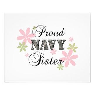 Proud Navy Sister fl c Full Color Flyer