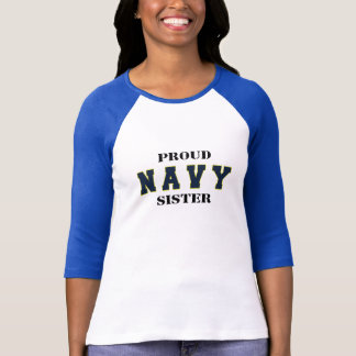 Proud Navy Sister Shirt