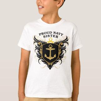 Proud Navy Sister T Shirts