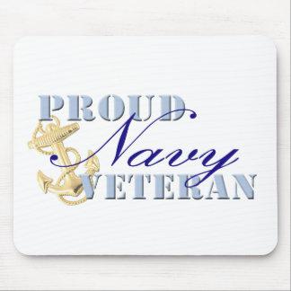Proud Navy Veteran Mousepad