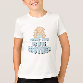 Proud New Big Brother Boy T-Shirt