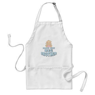 Proud New Big Brother Girl Standard Apron