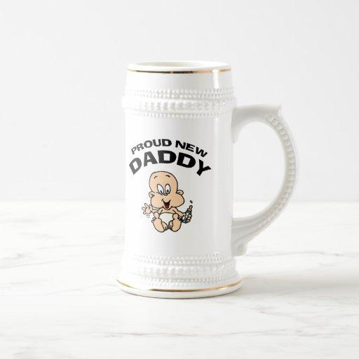 Proud New Daddy Mugs