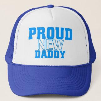 Proud new daddy trucker hat