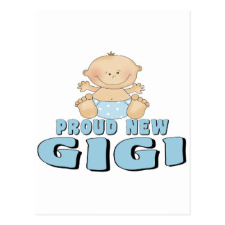 Proud New Gigi T-shirt Postcard