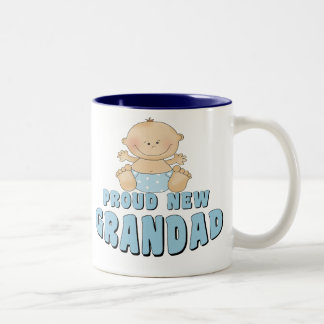 PROUD NEW Grandad Boy Coffee Mug