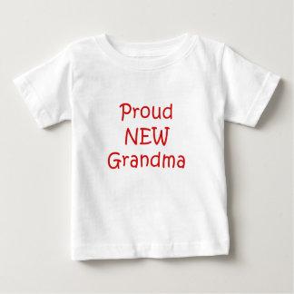 Proud New Grandma Baby T-Shirt