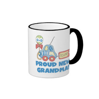 Proud New Grandma-It s a Boy Tshirts and Gifts Coffee Mugs