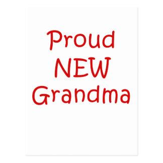 Proud New Grandma Postcard