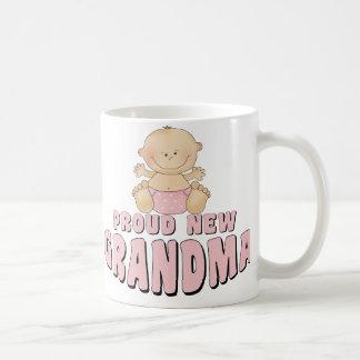 PROUD NEW Grandma T-Shirt Coffee Mug