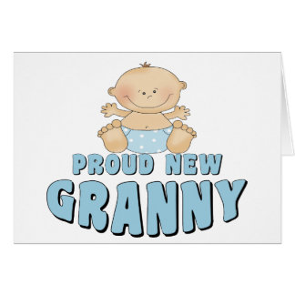 PROUD NEW Granny T-Shirt Cards