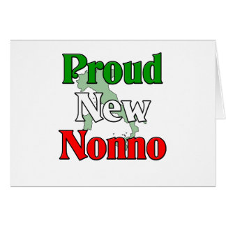 Proud New Nonno (Italian Grandfather) Card