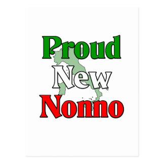 Proud New Nonno Italian Grandfather Postcards