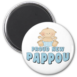 PROUD NEW Pappou Boy Magnets