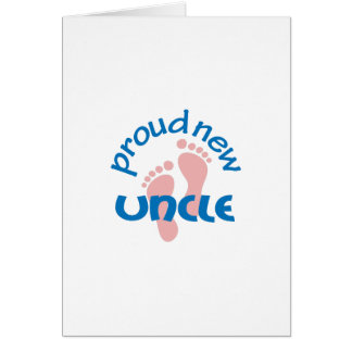 PROUD NEW UNCLE CARD