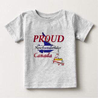 Proud Newfoundlander Newfoundland Canada Baby T-Shirt