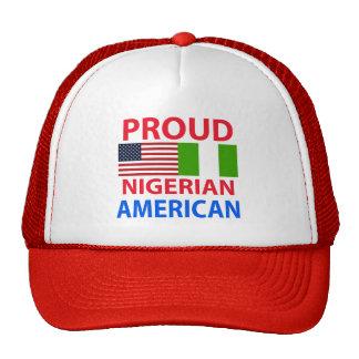 Proud Nigerian American Mesh Hat