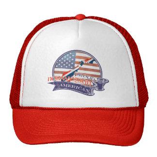 Proud Norwegian American Mesh Hats