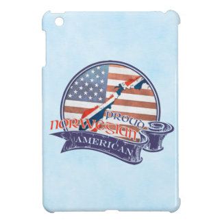 Proud Norwegian American iPad Cover