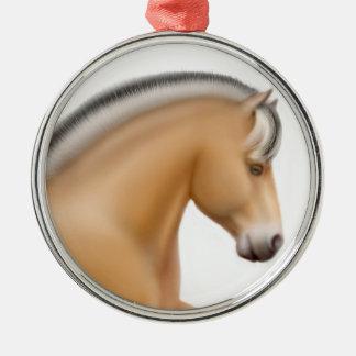 Proud Norwegian Fjord Horse Ornament